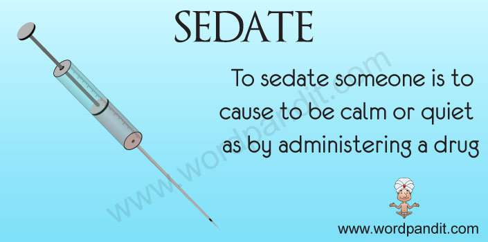 Picture for sedate