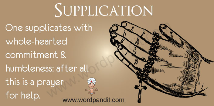 Picture for Supplication