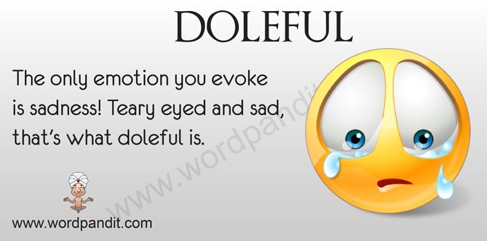 Picture for doleful