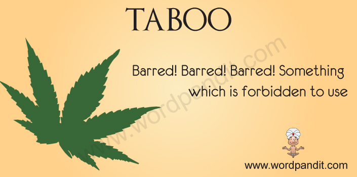 Picture for taboo