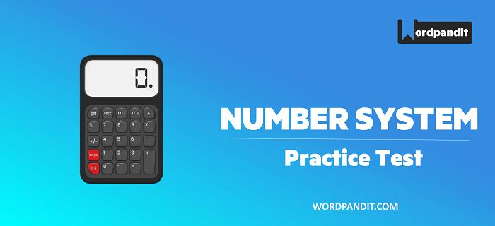 Number System Basics: Test 2