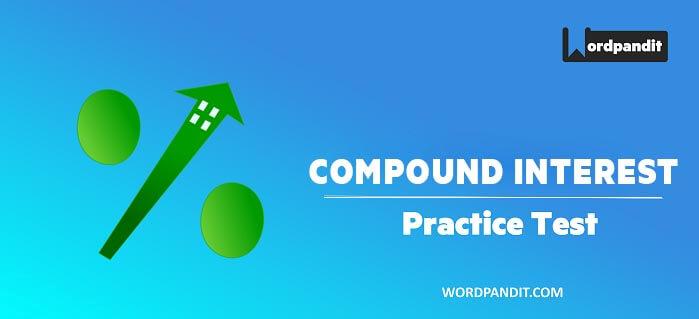 Arithmetic: Compound Interest Test -4
