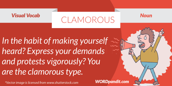 picture for clamorous