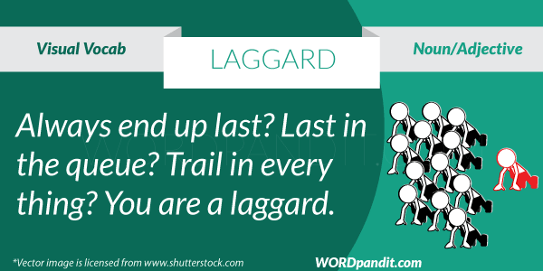 picture for laggard