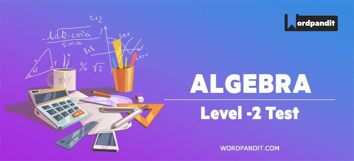 Algebra Level 2 Test 2