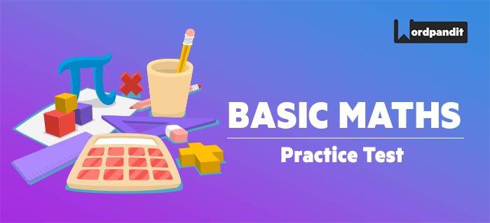 Basic Maths: Test 28