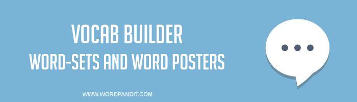 Vocabulary Builder for SSC CGL, Bank PO and CDS exams