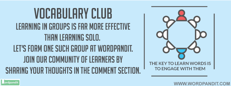 Community/group for Word Learners