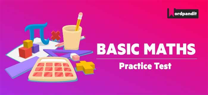 Basic Maths: Test 27