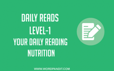 Daily Reads-30 (Level-1)