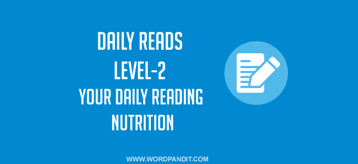 Daily Reads-25 (Level-2)