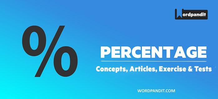 Percentage: The Complete Lesson