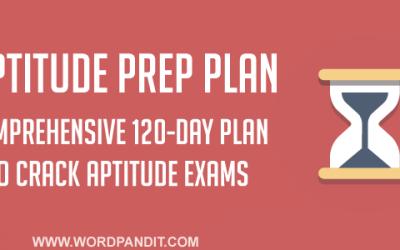 Aptitude Preparation Plan: Day-3