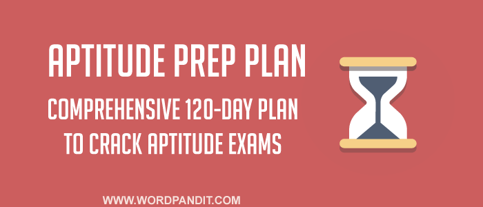 Aptitude Preparation Plan: Day-1