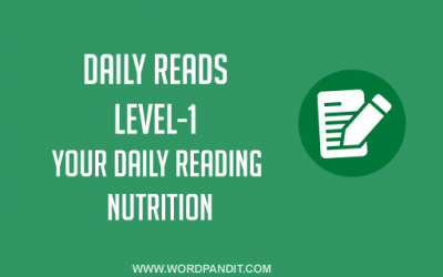 Daily Reads-22 (Level-1)
