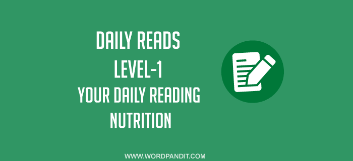 Daily Reads-2 (Level-1)