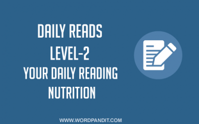 Daily Reads-22 (Level-2)