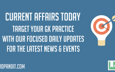 Daily Current Affairs Today 25 May 2017