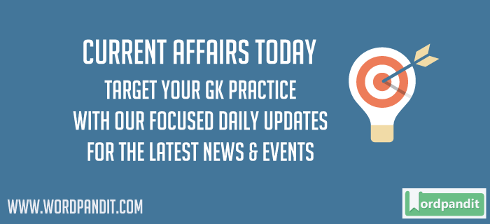 Daily Current Affairs Today 19 May 2017
