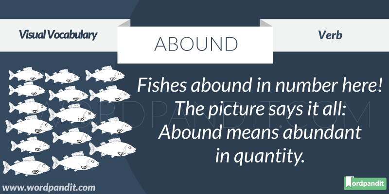 Abound-picture-meaning-definition