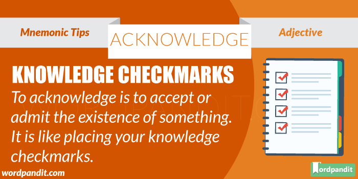 Acknowledge-picture-meaning-definition