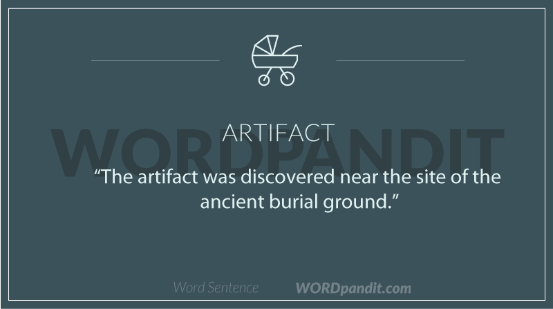 artifact meaning definition of artifact artifact sentences