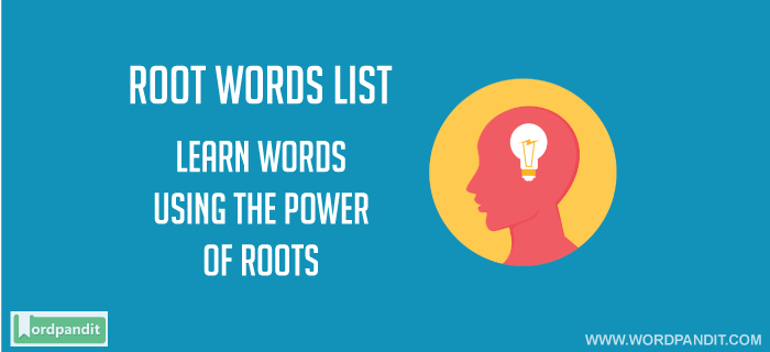 list of root words