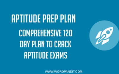 Aptitude Preparation Plan: Day-31