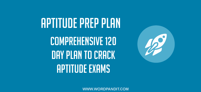 Aptitude Preparation Plan: Day-34