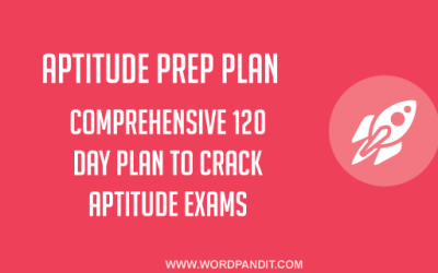 Aptitude Preparation Plan: Day-35