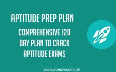 Aptitude Preparation Plan: Day-36