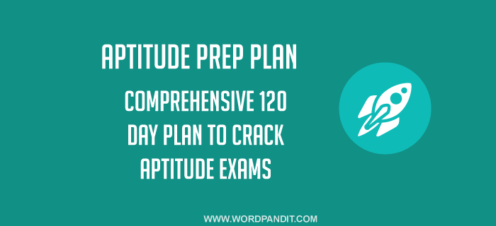 Aptitude Preparation Plan: Day-30