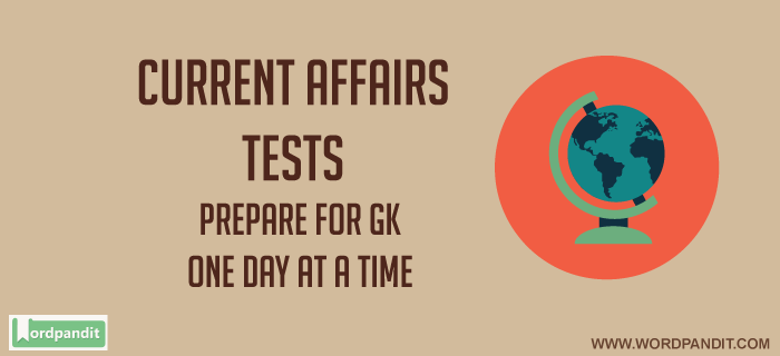 GK Current Affairs Quiz: August 8, 2017