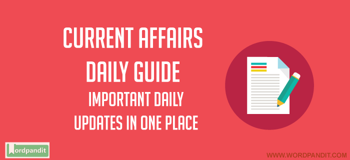 Daily Current Affairs 25 May 2018