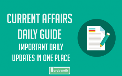 Daily Current Affairs 15 March 2019