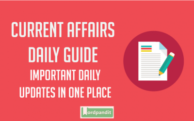 Daily Current Affairs 23 April 2018