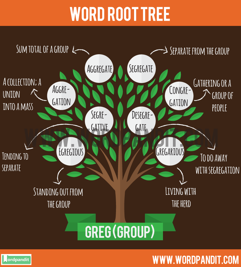 Greg Root Word: Learn words related to word root Greg
