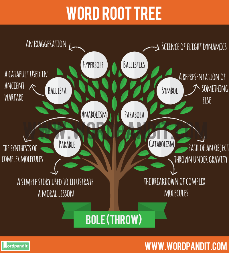 Bole Root Word: Learn words related to word root Bole
