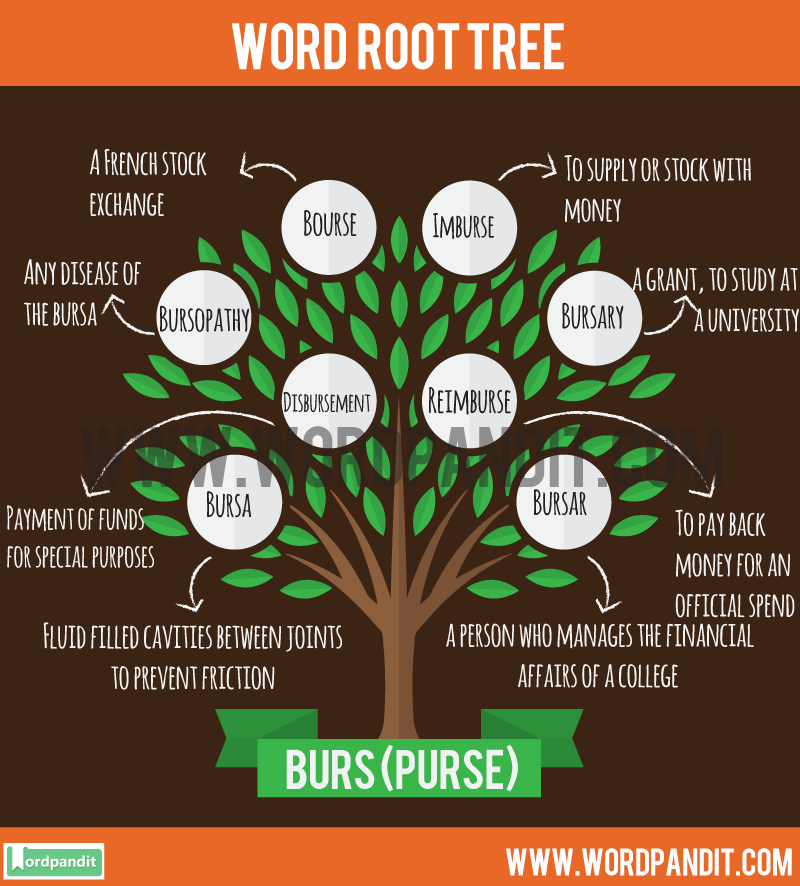 Burs Root Word: Learn words related to word root Burs