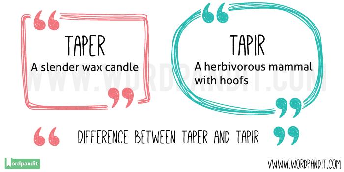Taper-vs-Tapir