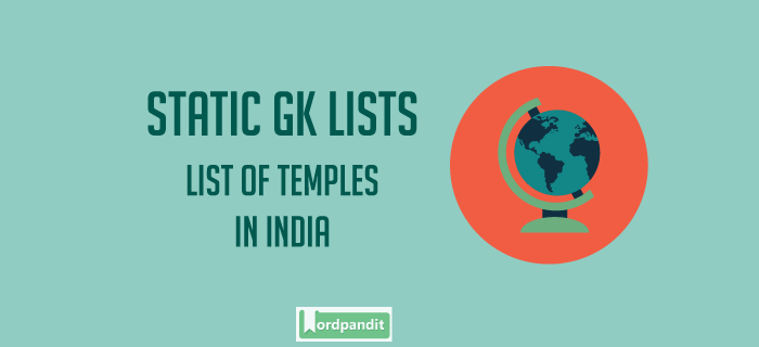 List of Temples in India