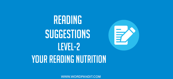 Reading Suggestion-9 (Level-2)