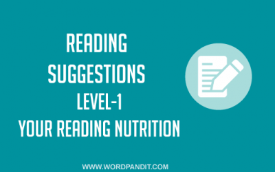 Reading Suggestion-6 (Level-1)