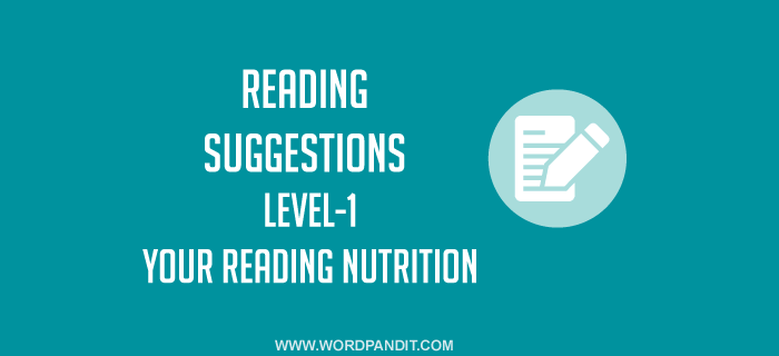 Reading Suggestion-8 (Level-1)