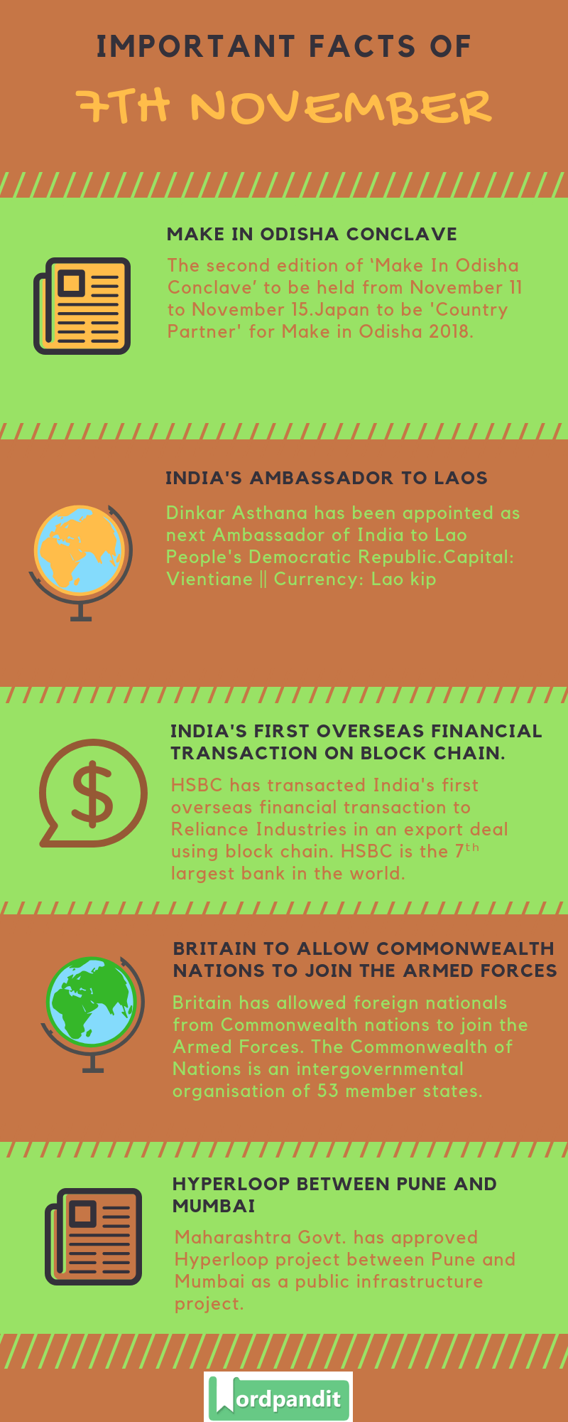 Daily Current Affairs 7 November 2018 Current Affairs Quiz 7 November 2018 Current Affairs Infographic
