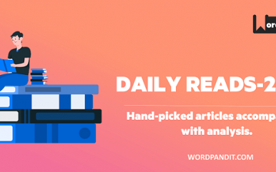 Daily Reads-2020: Article-110
